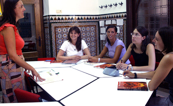 Spanish language courses Seville